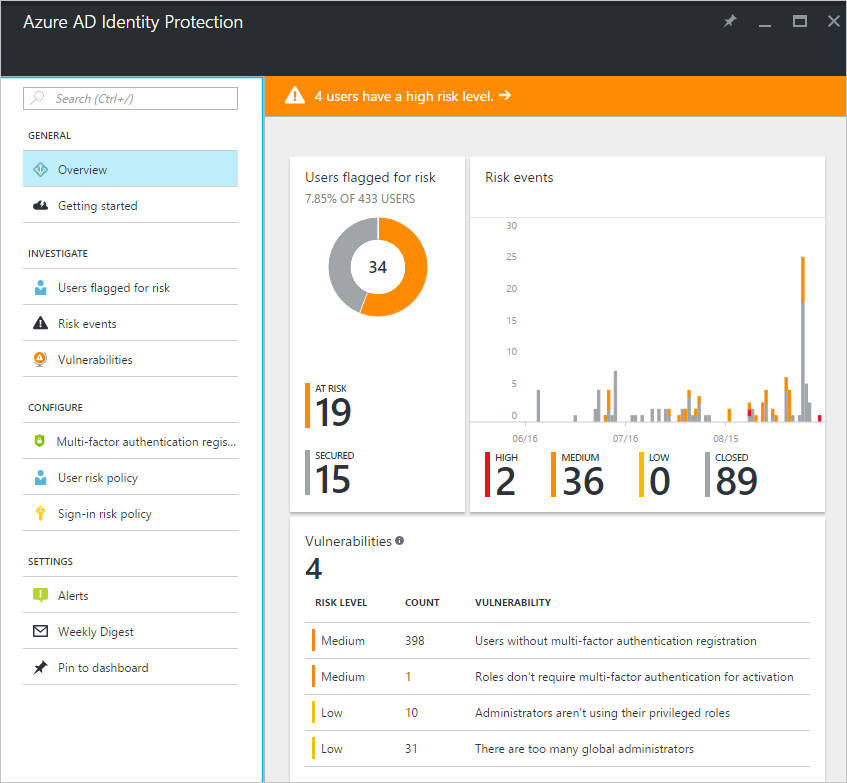Azure Service Identity Security Protections