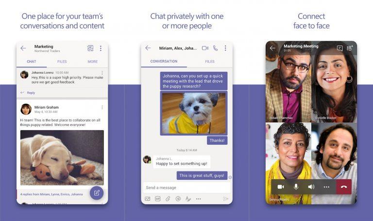 Microsoft-Teams-Google-Play-WinBuzzer-768×455